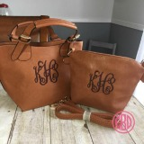 Monogrammed 2-in-1 Crossover Purse