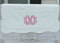 Heirloom Quilt Appliqued Monogram