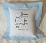 Bible Verse Infant Pillow