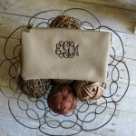 Fashion Clutch Monogrammed