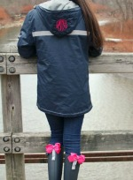 New Englander Monogrammed Rain Jacket - Women