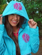New Englander Monogrammed Rain Jacket - Women