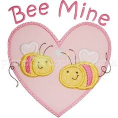 Be Mine Heart Applique