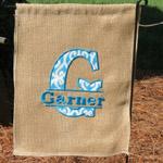 Personalized Applique Garden Flags