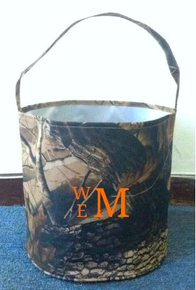 Personalized Camo Easter Bucket