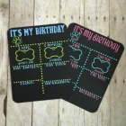 Pet Birthday Chalkbroad, Reusable