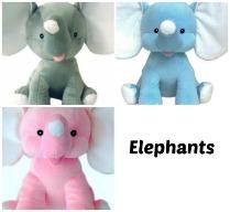 Personalized Birth Elephant