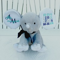 Personalized Birth Elephant