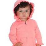 Ruffle Zip Hoodie Infant