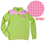 Pink Scales Pullover