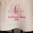 Heirloom Baby Quilt Personalized