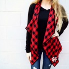 Red Buffalo Vest with Monogram